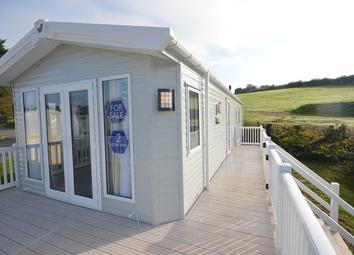 Thumbnail 2 bedroom lodge for sale in Week Lane, Dawlish Warren, Dawlish