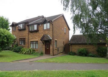 Thumbnail 3 bed semi-detached house for sale in Bishops Drive, Oakwood, Derby