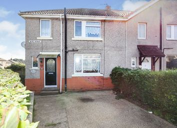 Thumbnail 3 bed semi-detached house for sale in Wood Avenue, Creswell, Worksop