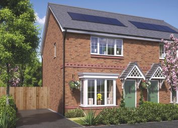 Thumbnail 3 bedroom semi-detached house for sale in Polletts Avenue, Brinnington Stockport