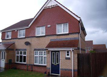 Thumbnail 3 bed semi-detached house to rent in Housesteads Gardens, Longbenton, Newcastle Upon Tyne