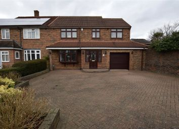 Thumbnail 4 bed semi-detached house for sale in Priory Path, Noak Hill