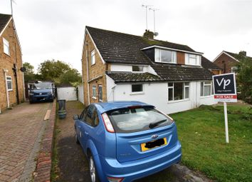 Thumbnail 3 bed semi-detached house for sale in Fontwell Drive, Tilehurst, Reading