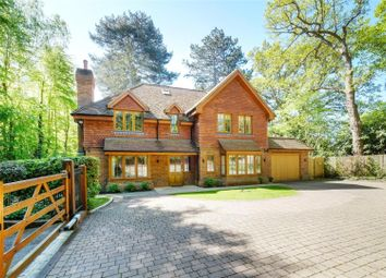 Thumbnail 5 bedroom detached house for sale in Kimberley Ride, Cobham, Surrey