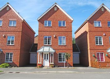 Thumbnail 4 bed detached house for sale in Weir Close, Wigston