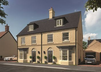 "Thumbnail 4 bedroom property for sale in ""The Stirling"" at Central Avenue, Brampton, Huntingdon"