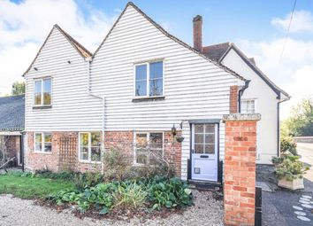 Thumbnail 2 bed end terrace house for sale in Bridge Street, Coggeshall, Colchester