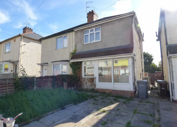 Thumbnail 2 bed semi-detached house for sale in Powell Street, Wolverhampton, West Mids