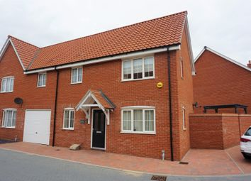 Thumbnail 3 bed semi-detached house for sale in Glover Close, Clacton-On-Sea