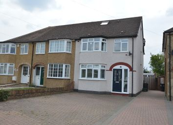 Thumbnail 4 bedroom end terrace house for sale in Beverley Close, Chessington, Surrey.