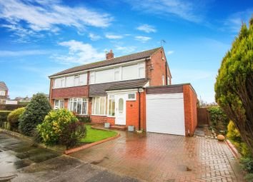 Thumbnail 3 bed semi-detached house for sale in Corbridge Avenue, Wideopen, Newcastle Upon Tyne