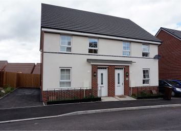 Thumbnail 3 bed semi-detached house for sale in Croft Gardens, Wolverhampton