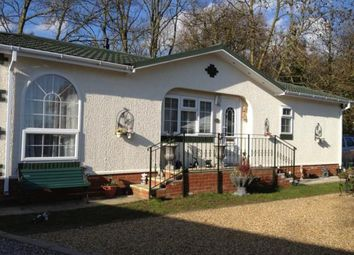 Thumbnail 2 bed mobile/park home for sale in Chalk Hill Lane, Great Blakenham, Ipswich