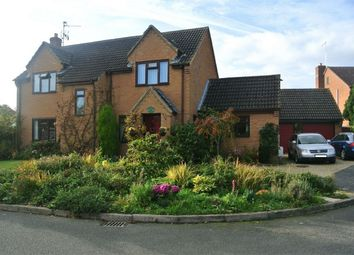Thumbnail 4 bed detached house for sale in The Paddock, Morton, Bourne, Lincolnshire