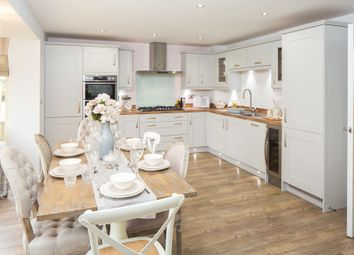 "Thumbnail 4 bed detached house for sale in ""Bayswater"" at Langport Road, Somerton"