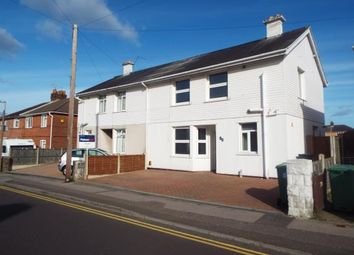Thumbnail 3 bed semi-detached house for sale in Churchill Road, Parkstone, Poole