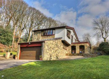 Thumbnail 4 bed detached house for sale in Stansfield Hall Road, Todmorden