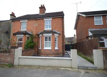 Thumbnail 3 bed semi-detached house for sale in Belle Vue Road, Aldershot, Hampshire