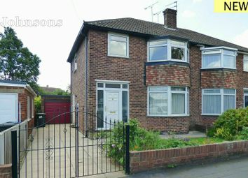 Thumbnail 3 bed semi-detached house for sale in Cedar Road, Balby, Doncaster.