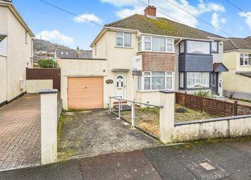 Thumbnail 3 bedroom semi-detached house for sale in Hooe, Plymouth, Devon