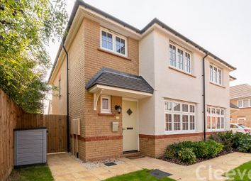 Thumbnail 3 bed semi-detached house for sale in Valentine Road, Bishops Cleeve, Cheltenham