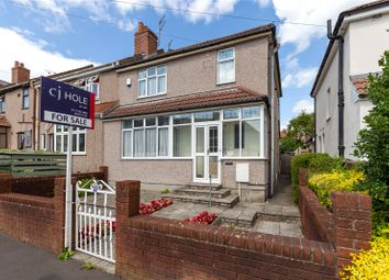 Thumbnail 3 bed semi-detached house for sale in Radnor Road, Horfield, Bristol