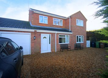 Thumbnail 4 bed link-detached house for sale in The Wroe, Emneth, Wisbech, Norfolk