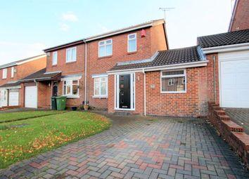Thumbnail 3 bed semi-detached house for sale in Glanton Close, Wardley, Gateshead