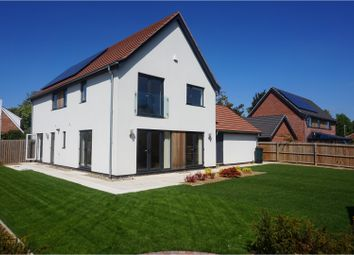 Thumbnail 4 bedroom detached house for sale in Otter Road, Swaffham