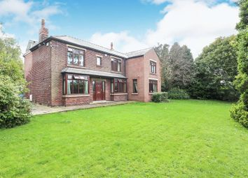 Thumbnail 5 bed detached house for sale in Rood Hill, Congleton