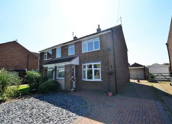 Thumbnail 3 bed semi-detached house for sale in Orchard Close, Willington, Derby