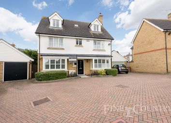 Thumbnail 5 bed detached house for sale in Waterson Vale, Chelmsford