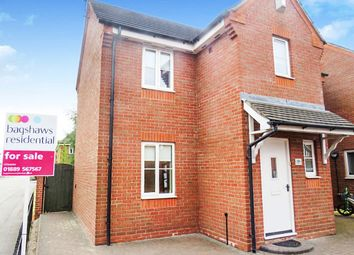 Thumbnail 3 bed detached house for sale in Russell Close, Uttoxeter