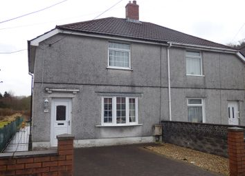 Thumbnail 3 bed semi-detached house for sale in Pentre Street, Glynneath, Neath .