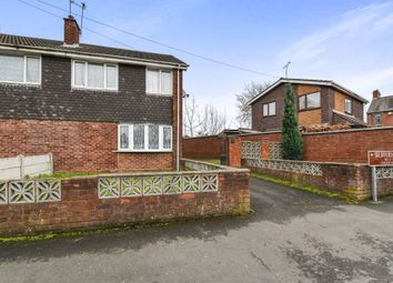 Thumbnail 3 bedroom semi-detached house for sale in Selborne Close, Walsall