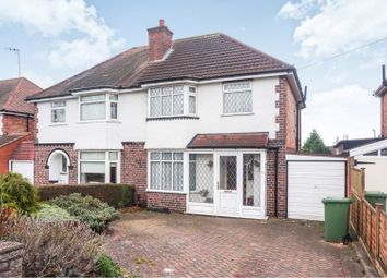 Thumbnail 3 bed semi-detached house for sale in Wagon Lane, Solihull