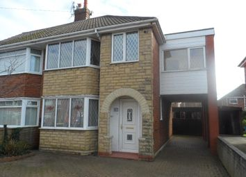 Thumbnail 4 bed semi-detached house to rent in Rossington Avenue, Blackpool