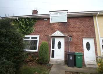 Thumbnail 2 bed terraced house to rent in Loch Grove, Hartlepool