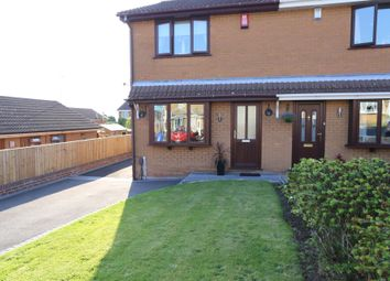 Thumbnail 3 bed semi-detached house for sale in Amberfield Close, Meir Hay