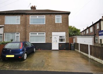 Thumbnail 3 bedroom semi-detached house for sale in Wyncroft Road, Widnes
