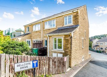 Thumbnail 4 bed semi-detached house for sale in Bellcote Drive, Moldgreen, Huddersfield