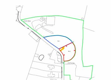 Thumbnail Land for sale in Priest Weston, Montgomery
