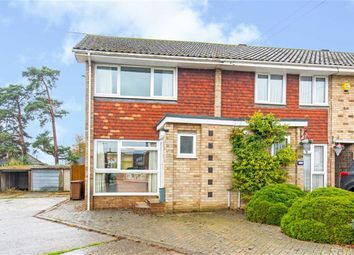 Thumbnail 2 bed end terrace house for sale in Home Park, Oxted, Surrey