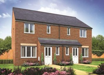 Thumbnail 3 bedroom semi-detached house for sale in Plot 41, Hanbury, Salterns, Terrington St. Clement, King's Lynn