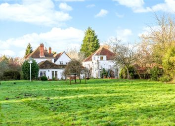 Thumbnail 7 bed detached house for sale in Lower Common, Eversley, Hook, Hampshire