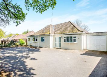 Thumbnail 3 bed detached bungalow for sale in Ringwood Road, Ferndown