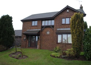Thumbnail 4 bed detached house to rent in Brockhill, Loggerheads, Market Drayton