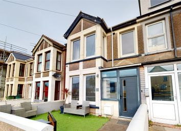 Thumbnail 3 bed terraced house for sale in Mount Wise, Newquay, Cornwall