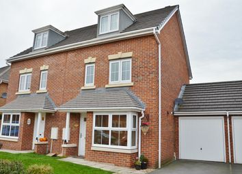 Thumbnail 4 bedroom town house for sale in The Covert, Coulby Newham, Middlesbrough