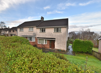 Thumbnail 3 bedroom semi-detached house for sale in 20 St Andrews Drive, Gourock
